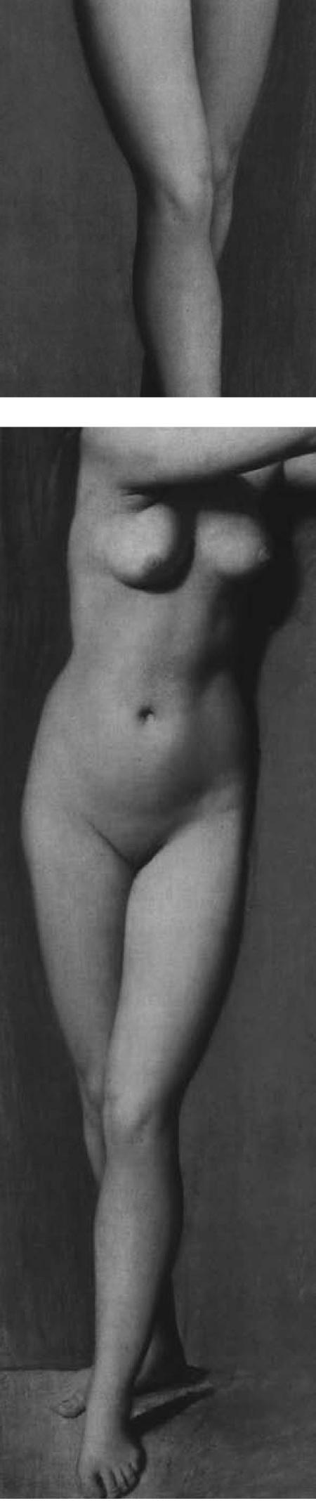 Femme nue sans visage
