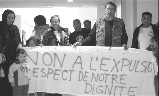 Contre l&rsquo;expulsion